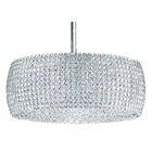 Dionyx 3-Light Crystal Chandelier Crystal: Swarovski Elements Azurite