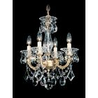 La Scala 4-Light Candle Style Chandelier Finish / Crystal Color: Heirloom Bronze / Strass Clear