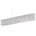 Matrix 6-Light Kitchen Island Pendant Crystal Type: Spectra Clear