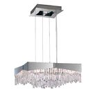 Riviera 8-Light Crystal Chandelier Finish: Stainless Steel