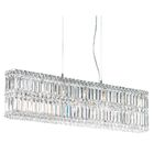 Quantum 17-Light Rectangle Pendant Width / Crystal Color: 35.5