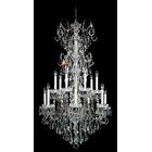 New Orleans 14-Light Chandelier Finish / Crystal Color: French Gold / Handcut Heritage