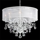 Filigrae 8-Light Chandelier Finish: Etruscan Gold, Shade Color: Gold, Crystal Type: Spectra Clear