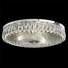 Fontana Luce 3-Light Flush Mount Finish: Antique Silver