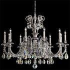Genzano 11-Light Chandelier Crystal Type: Heritage Clear, Finish: Florentine Bronze