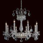 Fontana Luce 10-Light Chandelier Finish: Silver