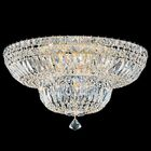 Petit 9-Light Flush Mount Crystal Type: Gemcut Clear