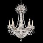 La Scala Empire 8-Light Candle Style Chandelier Finish / Crystal Color: Heirloom Gold / Swarovski Spectra