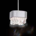 Zeppa 2-Light Pendant Shade Color: Gold, Crystal: Spectra Crystal Clear