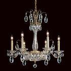 Fontana Luce 6-Light Chandelier Finish: Heirloom Gold