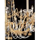 Florabella 8-Light Chandelier Crystal Grade: Heritage, Finish: French Gold