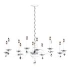 Modique 12-Light Chandelier Crystal Grade: Heritage, Finish: French Gold