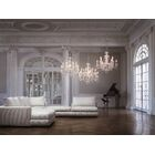 Sterling 12-Light Candle Style Chandelier Finish / Crystal Color: Polished Silver / Strass Clear