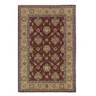 Opulent Burgundy/Brick Silk Area Rug Rug Size: Runner 2'6