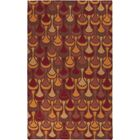 Voyages Cherry Geometric Rug Rug Size: Rectangle 3'6