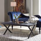 Kirti Rectangular Coffee Table Color: Black Oak