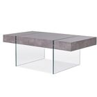 Donquez Coffee Table Top Color: Light Gray