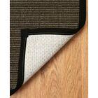 Sisal Onyx Big Sur Grey Area Rug Rug Size: Rectangle 8' x 10'