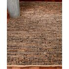 Cosmo Leather Hand Loomed Area Rug Rug Size: Rectangle 6' x 9'