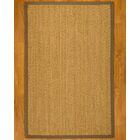 Four Seasons Handwoven Tan Area Rug Rug Size: Rectangle 5' x 8'