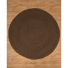 Brooklyn Jute Hand Woven Natural Area Rug Rug Size: Round 8'