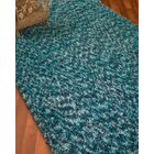 Maldives Hand-Woven Turquoise Area Rug Rug Size: Rectangle 5' x 8'