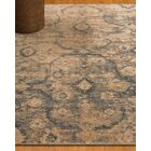 Iris Oriental Blue/Brown Area Rug Rug Size: Rectangle 9' x 12'