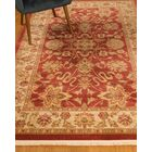 Turkish Beacon Beige/Red Area Rug Rug Size: Rectangle 5' x 8'