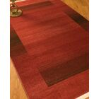 Bahama Red Area Rug Rug Size: Rectangle 8' x 10'