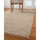 Limassol Leather Hand-Woven Gray Area Rug Rug Size: Rectangle 8' x 10'