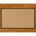 Handmade Beige Area Rug Rug Size: Rectangle 6' x 9'