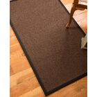Ripley Hand-Woven Brown Area Rug Rug Size: Rectangle 9' x 12'