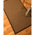 Riley Hand-Woven Brown Area Rug Rug Size: Rectangle 5' x 8'