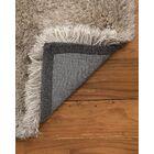 Grenshaw Shag Hand-Woven Gray Area Rug Rug Size: Rectangle 8' x 10'