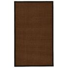 Hanwell Handwoven Flatweave Brown Area Rug Rug Size: Rectangle 8' x 10'