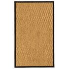 Arya Natural Fiber Sisal Hand-Woven Beige Area Rug Rug Size: Rectangle 3' x 5'