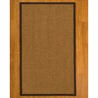 Asmund Border Hand-Woven Brown/Onyx Area Rug Rug Pad Included: No, Rug Size: Rectangle 3' x 5'