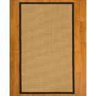 Lanie Hand Woven Brown/Fudge Area Rug Rug Size: Rectangle 9' x 12'