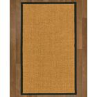 Andlau Hand Woven Brown Area Rug Rug Size: Rectangle 6' X 9'