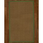Aderyn Hand Woven Brown Area Rug Rug Size: Rectangle 5' X 8'