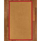 Shauntel Hand-Woven Beige Area Rug Rug Size: Rectangle 4' X 6'