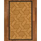 Aalin Hand Woven Brown Blue Area Rug Rug Size: Rectangle 4' X 6'