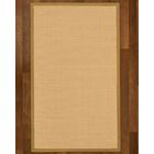 Rupendra Hand-Woven Beige Area Rug Rug Size: Rectangle 8' X 10'