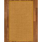 Andlau Hand-Woven Tan Area Rug Rug Size: Rectangle 2' X 3'
