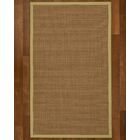 Jamesville Hand Woven Brown Area Rug Rug Size: Rectangle 8' X 10'
