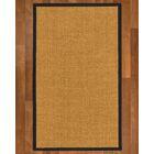 AndlauHand Woven Brown Area Rug Rug Size: Rectangle 9' x 12'
