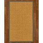 Andlau Hand Woven Brown Area Rug Rug Size: Rectangle 3' X 5'