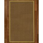 Aderyn Hand-Woven Brown Area Rug Rug Size: Rectangle 6' X 9'