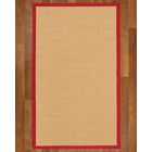 Rupendra Hand Woven Beige Area Rug Rug Size: Rectangle 5' X 8'