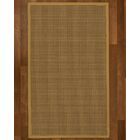 Asther Hand-Woven Brown Area Rug Rug Size: Rectangle 4' X 6'